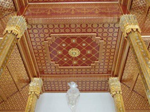 The  Boromrajasathitmaholoin  Hall ,Phra Thinang Chaki Maha Prasat.